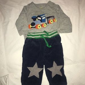 Bundle of Baby Boden Outfit size 0-3M